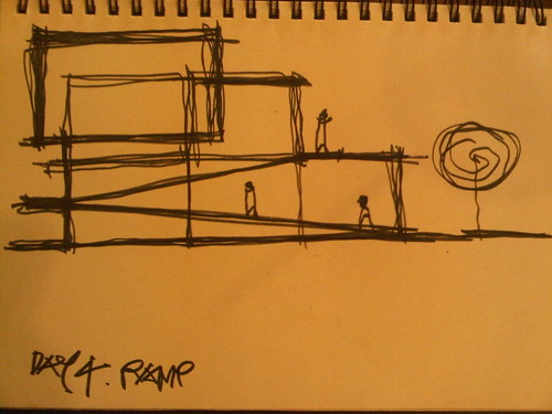 Ramp Sketch by miranda2809