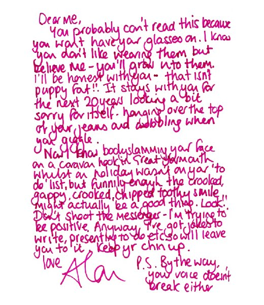 Letter To Younger Self Examples