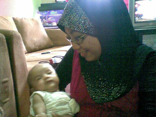 Baby Adam Haiqal Masuk Blog :) by herneesamshudin
