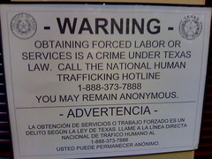 Forced Labor is a crime under Texas law
