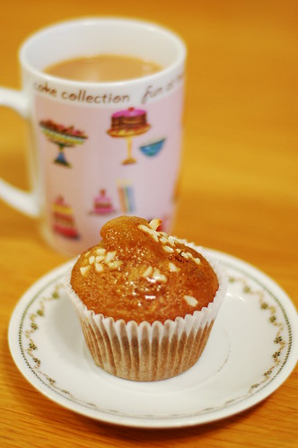 honey and nut muffins