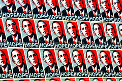 Was the Iconic Shepherd Fairey Obama Hope Imag...