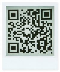 QR Code (ilGerry) Tags: polaroid code qr