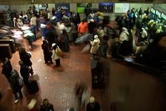 Metro crowd 2 (melannen) Tags: subway dc washington metro inauguration09