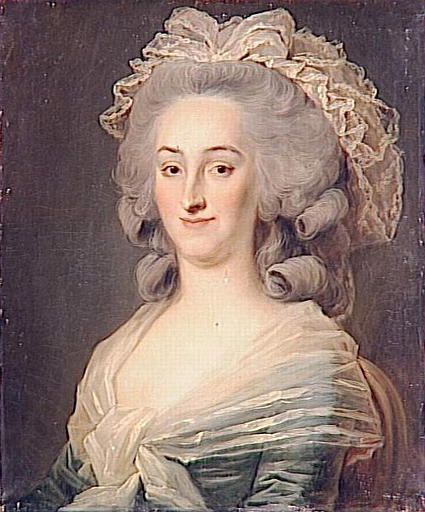 Johann Ernst Heinsius, Madame Huard, late 18th. ct