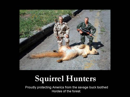 squirrel hunters by Captain72