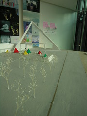 テントビレッジ模型
