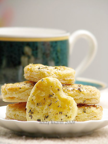 Classic Puff Pastry : Herbs Cookies