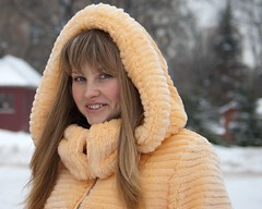Olya (Elinalipona) Tags: street city winter girls portrait people snow students girl face nice russia moscow february russian 2009  russiangirls