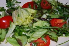 eenvoudige salade