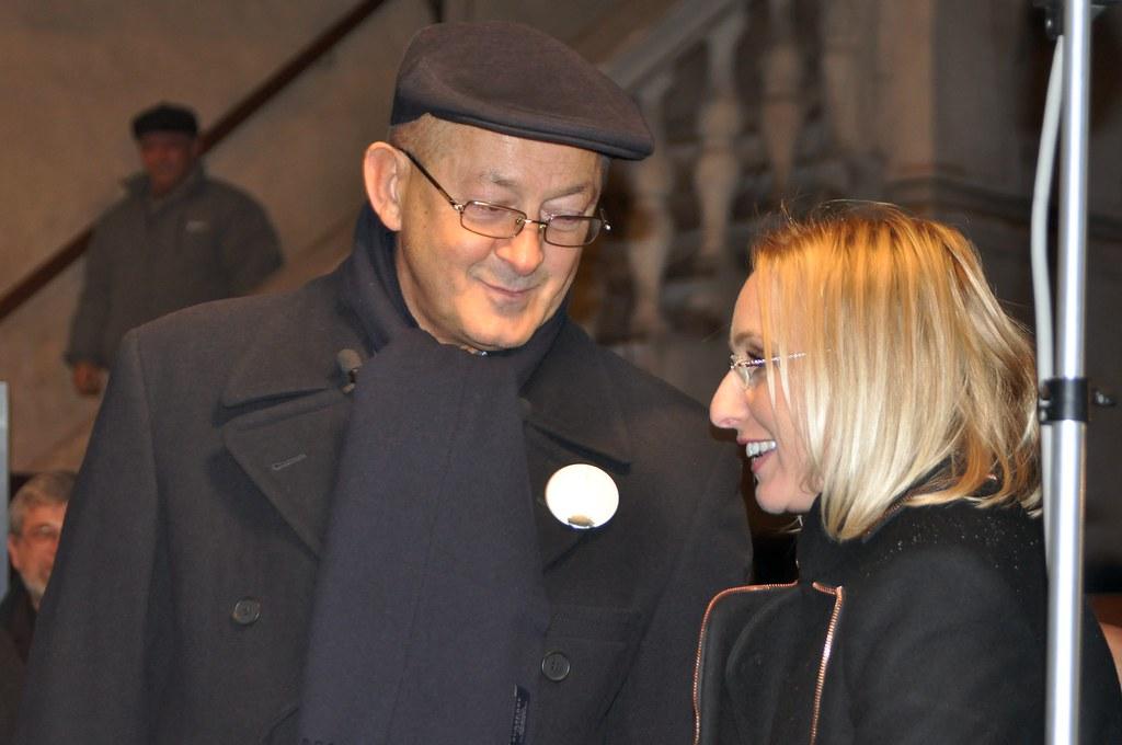 Mihai Tatulici si Gaby Szabo