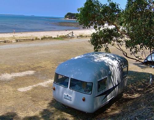 The campsite. Point Leo.