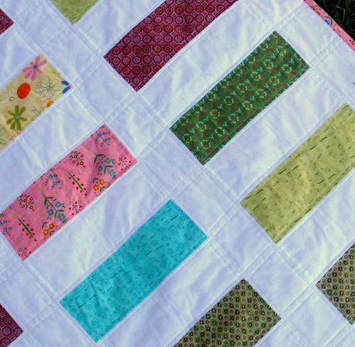 sherbet quilt detail