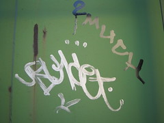 2 MUCH , BUKET (KRITERION) Tags: 2 train graffiti bucket tag much rem freight oes tko 2much