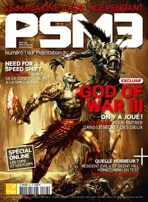 【PS3】《战神3》最新法国杂志扫描图