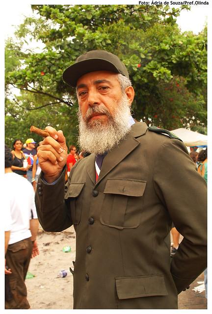 Fidel Castro nas ladeiras de Olinda