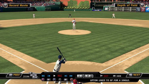 MLB 09 The Show screenshot - Replay Movie setup