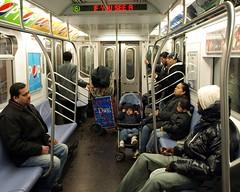 Riding the Number 6 Train, Bronx IRT Pelham Subway Line, New York City (jag9889) Tags: life county street city nyc people 6 ny newyork train subway bronx tracks streetlife pedestrian streetscene scene el line passengers number line6 mta borough elevated 2009 travelers irt metropolitantransitauthority mtanewyorkcitytransit irtpelhamline interboroughrapidtransit y2009 irtbronxline jag9889