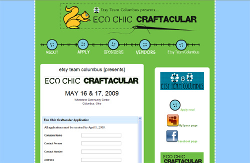 Eco-chic Craftacular