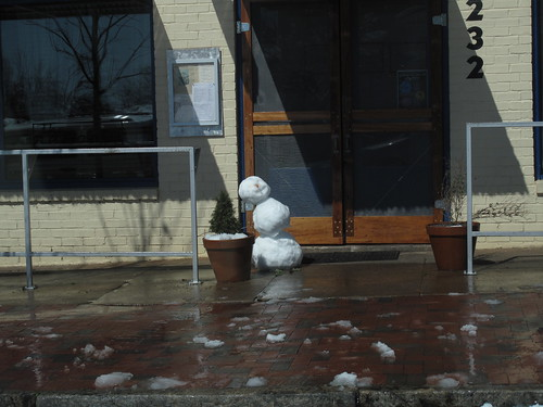 Snowman at the National.