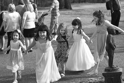 Five sassy girls