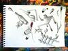 ...pero no se a dÓnde. (Felipe Smides) Tags: chile viaje santiago fish money pez color art colors pencils hojas fire escape arte metro drawing lapiz ticket colores escalera viajes sueños dreams árbol draw fuego scape dibujos corazón felipe mesa metrodesantiago dinero botella sentir zapatillas letra pescados brocha ramas viajero lapices pastillas rodillo bocetos rodilla fosforos pasajes artisticexpression desconocidos desahogo tillas instantfave ramificaciones anónimos mywinners abigfave aplusphoto beatifulcapture mecánicapopular colourartaward colorartaward artlegacy smides felipesmides dibujossmides