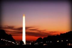 Capital of the World (Manu Arj) Tags: world sunset usa monument mall dc washington capital eua obelisk puestadesol themall postadesol eeuu 5photosaday