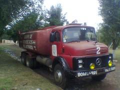 C.B.V.E. (cbve2002) Tags: de mercedes oscar foto firetruck paraguay firefighter encarnacion nacional bomberos junta rios compaia itapua cuerpo bombero cisterna aljibe voluntarios 2013 be15 autobomba cbve2002 cbve