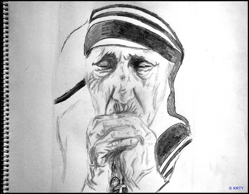 Mother Teresa - in my Pencils