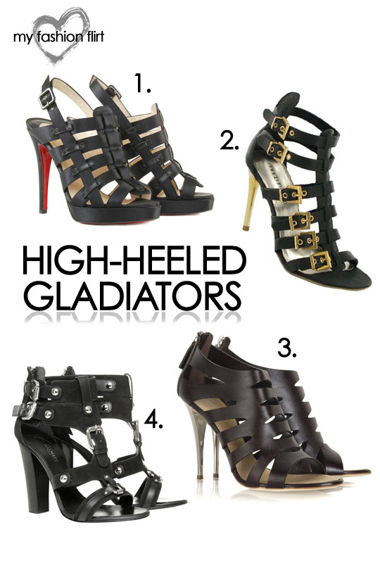 High-Heeled Gladiators