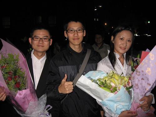 2009.04.09 與合唱團學弟妹的合照