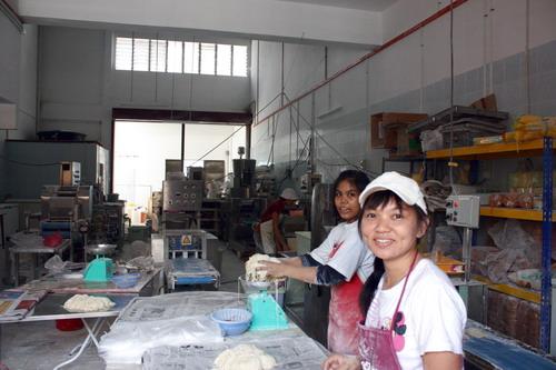 wanton noodle factory
