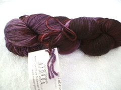 MALABRIGO superwash merino sock