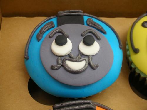 Thomas cupcake