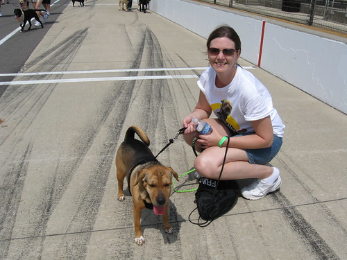 Laney and I at Mutt Strut
