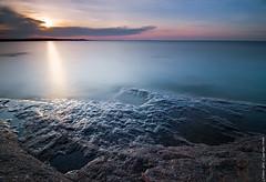 Silky sea (Rob Orthen) Tags: longexposure sea sky rock sunrise suomi finland landscape dawn nikon europe scenic rob tokina 09 nd scandinavia meri maisema vesi pinta d300 kevt gnd 1116 nohdr orthen leefilters roborthenphotography tokina1116 tokina1116mm28 seafinland