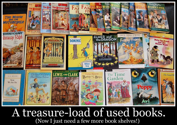 Treasure-load of Books!