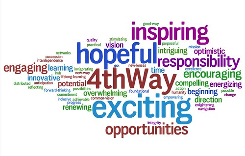 4th Way Admin wordle v2- April 23, 2009