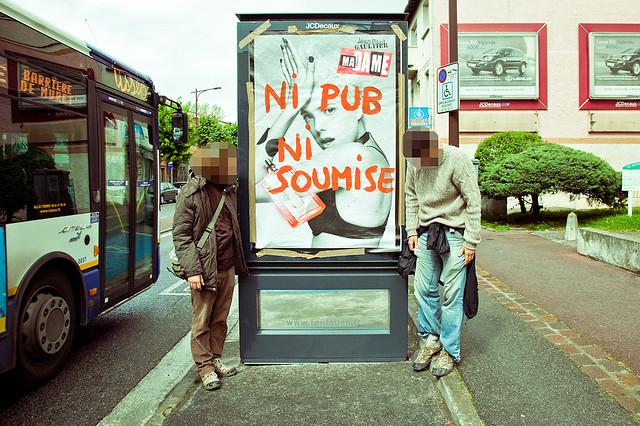 Enfin un collectif anti pub à Toulouse