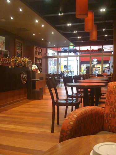 Busy Gloria Jean's at HarbourTown