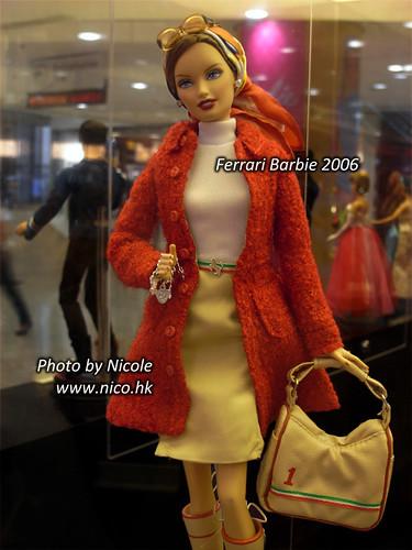 Ferrari Barbie 2006