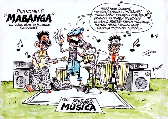 Phénomène « Mabanga » ou débrouille dans la musique congolaise