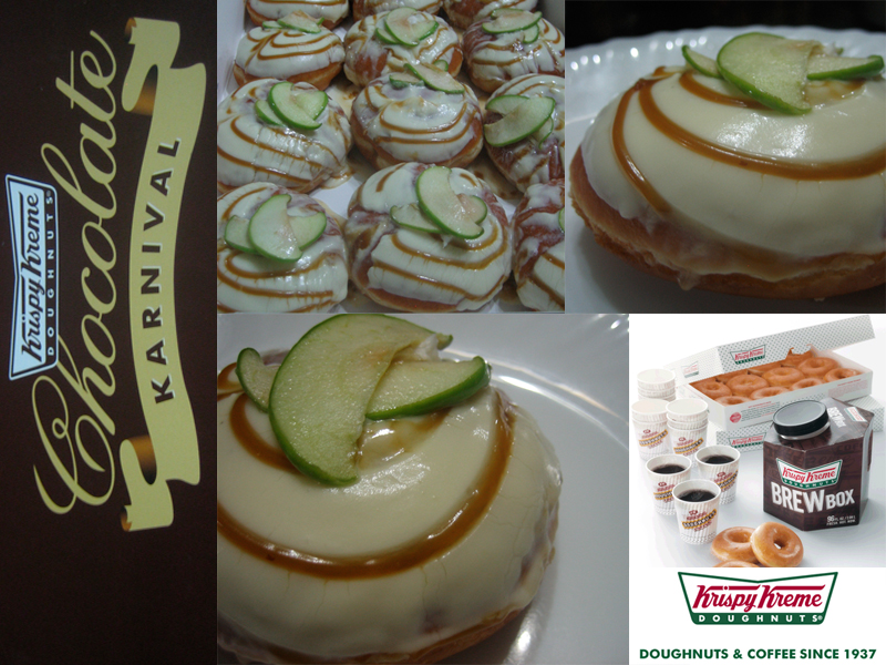 Krispy Kreme Apple Cheesecake