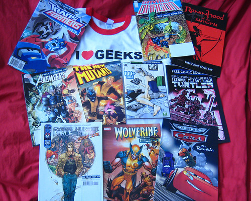 Free Comic Book Day Haul