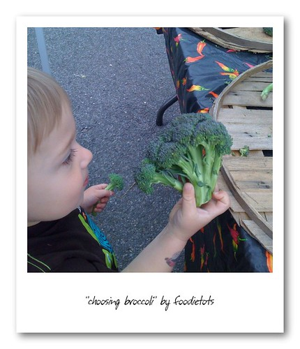 broccoli kids farmers market