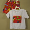 Custom Safari Animals 2pc Short Set