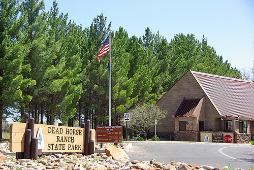 Dead Horse Ranch State Park - Ranger Station at entrance