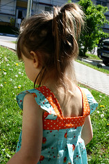 made by rae, spring ruffle top back (parrishplatz {Jennifer}) Tags: fleamarketfancy deniseschmidt madebyrae springruffletop