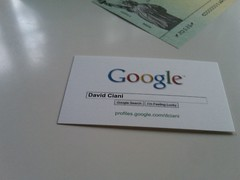 Google Profile Business Card