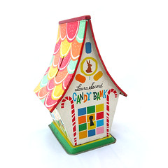 Candy bank money box (Wooden donkey) Tags: